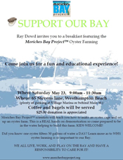 Join Us for Oyster Farming Breakfast on May 23rd