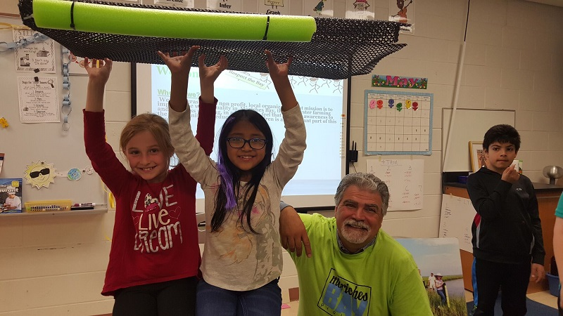 Moriches Bay Project Goes Back To WHB Elementary School