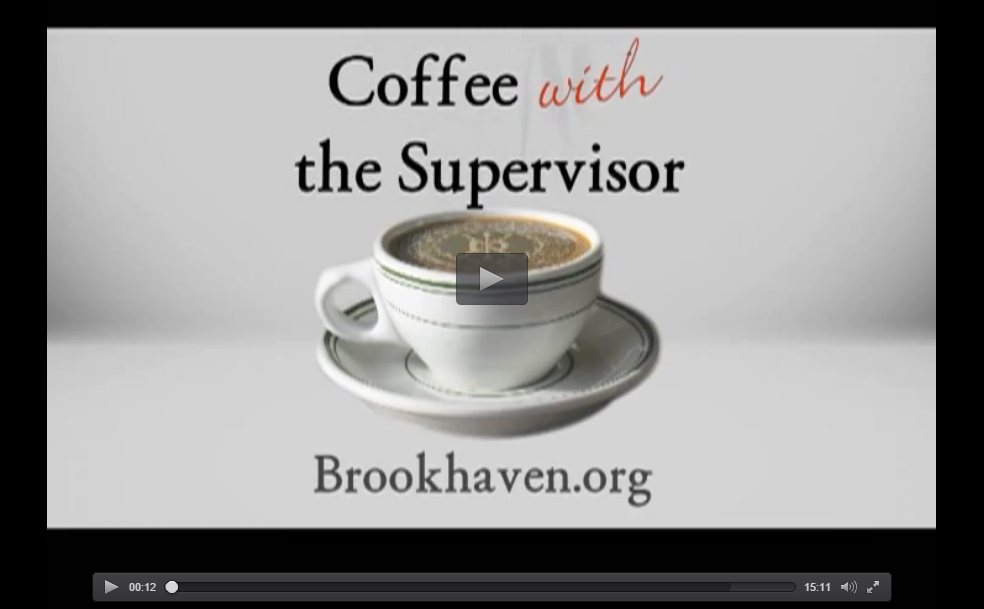 coffee with town supervisor
