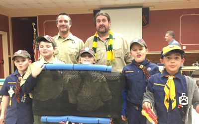 MBP Spends a Night with Cub Scout Pack 29