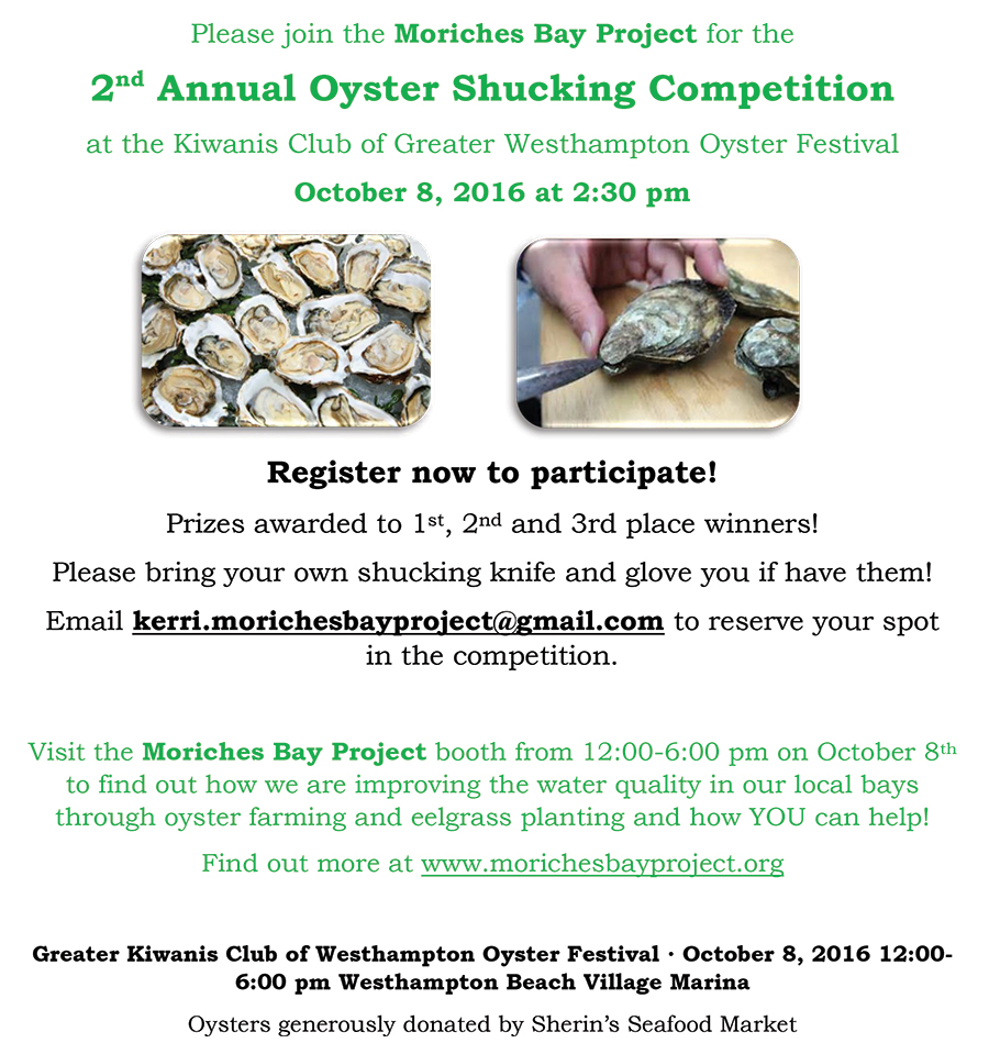 2nd Annual Oyster Fest Shucking Competition