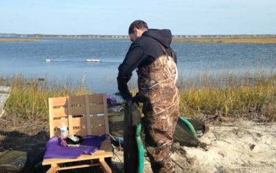 Getting Our Oyster Farms Ready for Winter
