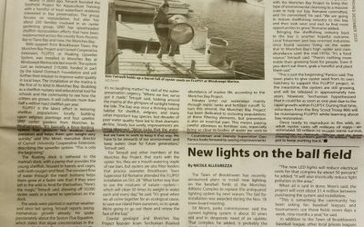 Moriches Bay Project in the News