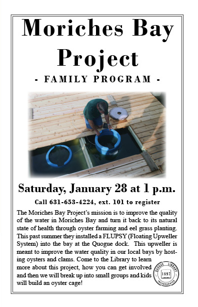 Join Us for our Family Program on January 28th