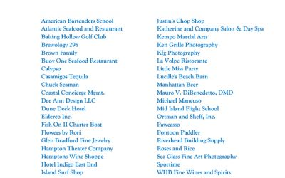 Thank You to the Oyster Fling Sponsors