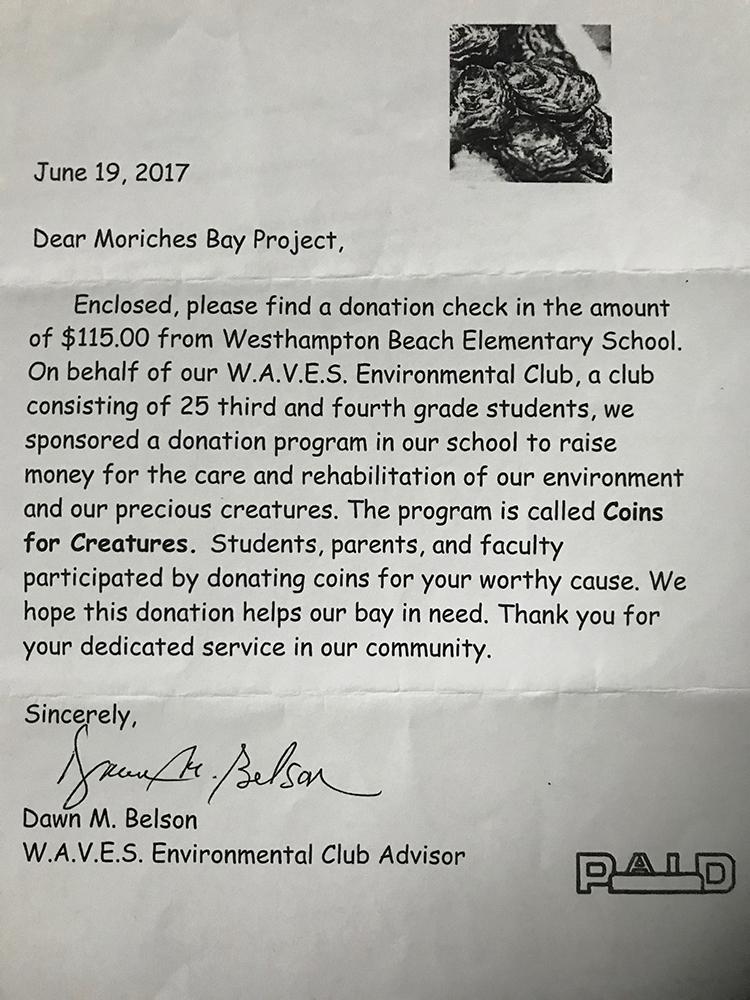 Thanks to W.A.V.E.S Environmental Club