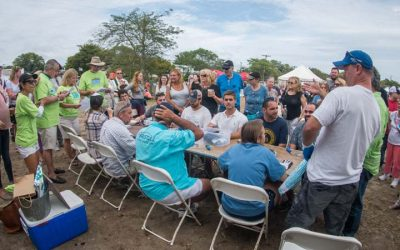 Our 3rd Annual Oyster Shucking Competition