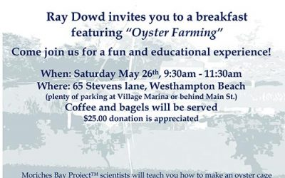 Oyster Farming Breakfast with Ray Dowd