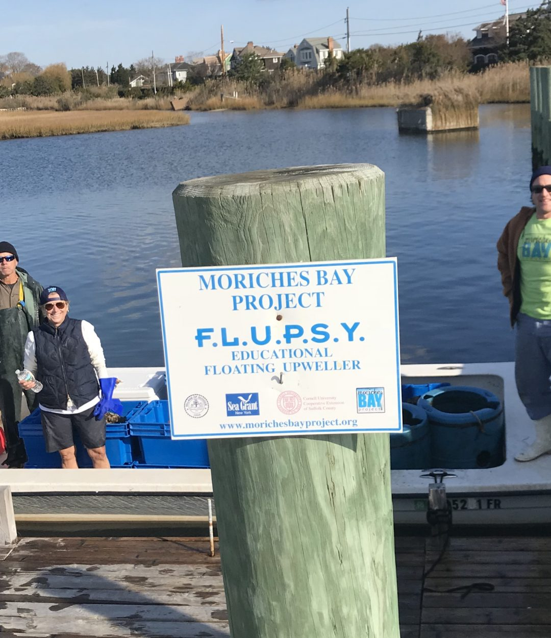 Moriches Bay Project Expressions of Gratitude