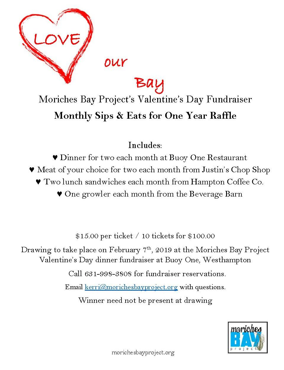 Moriches Bay Project Annual Valentine's Dinner